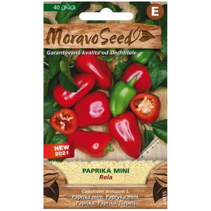 Paprika zeleninová mini Rela -40s