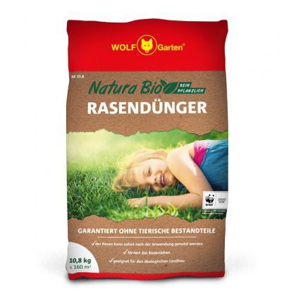 Hnojivo na trávnik NATURA 10,8kg WOLF-Garten