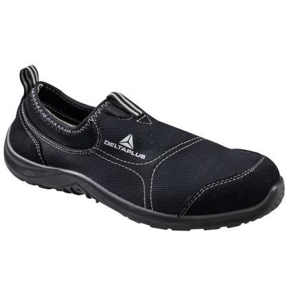 Bezpečnostná obuv MIAMI S1P DELTAPLUS ČIERNA