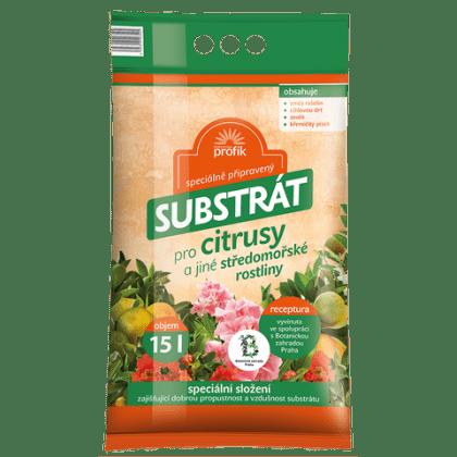 Substrát pre citrusy 15l profík
