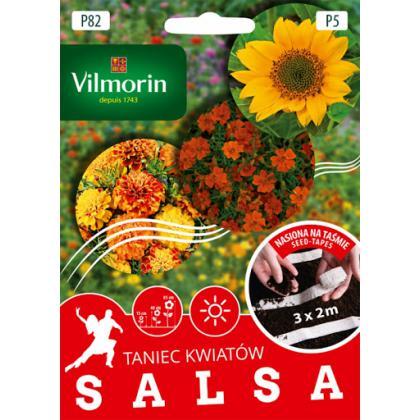 P82 Kolekcia semien na pásiku SALSA