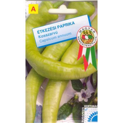 Paprika baraní roh (zelená) sladká – Szentesi zöld kosszarvú, 50 sem.