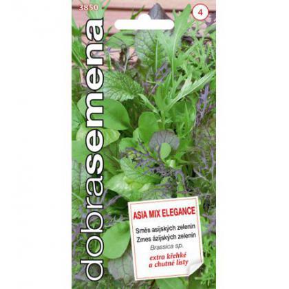 zmes listových zelenín ASIA MIX ELEGANCE -4g