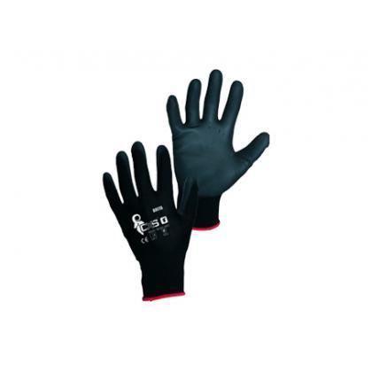 rukavice BRITA čierne, vel.7