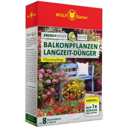 Hnojivo na balkónové rastliny energy depot ED-BK 0,81kg WOLF-Garten