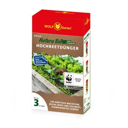 Hnojivo na vyvýšené záhony N-HB 0,85kg WOLF-Garten
