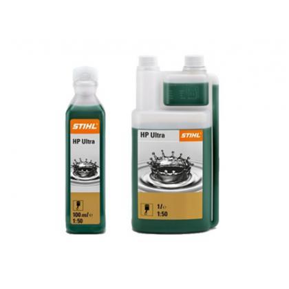 Olej pre dvojtaktné motory STIHL HP Ultra 1:50 1l s odmerkou