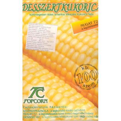 Kukurica cukrová – skorá – Nugat 72 F1, 100 sem.