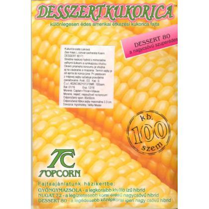 Kukurica cukrová – neskorá – Dessert R78 F1, 100 sem.