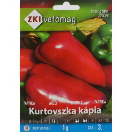 Paprika ročná Kurtovszka kápia 1g