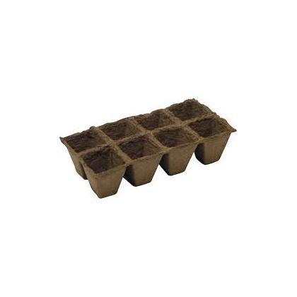 Kvetináč rašelinový na priesady 10ks/6x6 cm