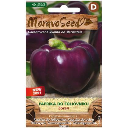 Paprika zeleninová do fóliovníka Loran -40s