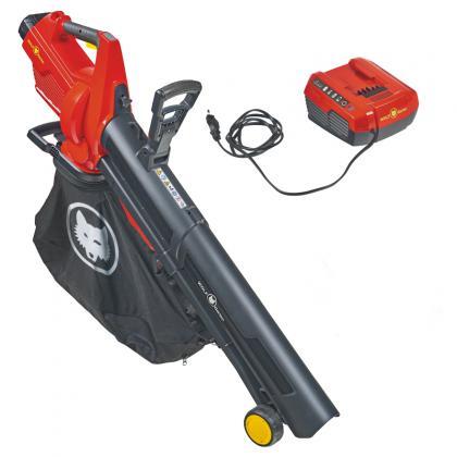 Akumulátorový fúkač a vysávač lístia WOLF-Garten LYCOS 40/480 V, SET