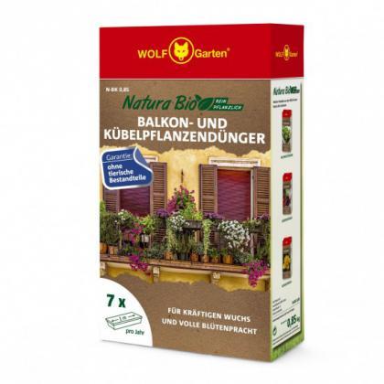 Hnojivo na balkónové rastliny N-BK 0,85kg WOLF-Garten