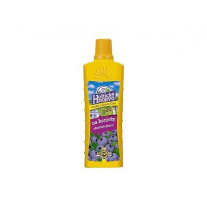 Hoštické hnojivo na čučoriedky 500 ml