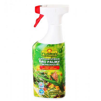 FLORIA Listová výživa pre zelené rastliny a palmy 500ml