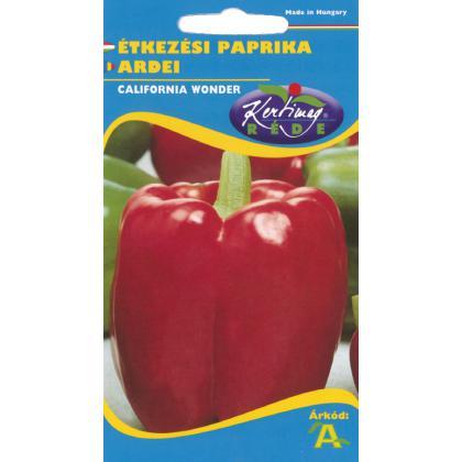 Paprika červená sladká California Wonder 1g