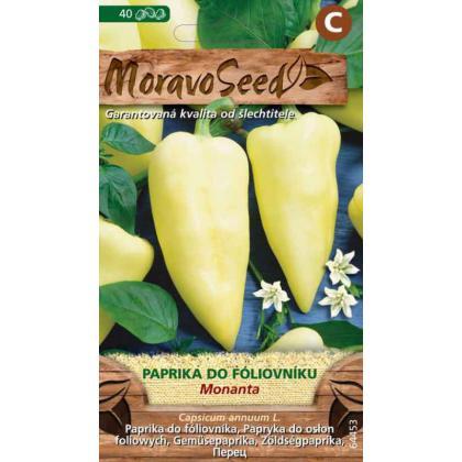 Paprika ročná do fóliovníku - Monanta 40s