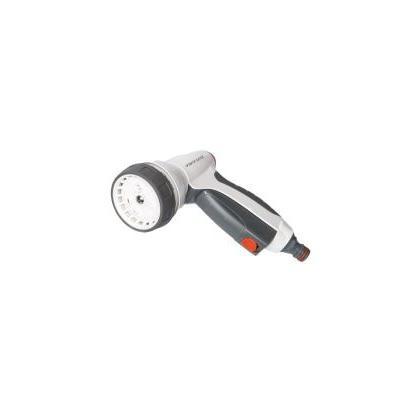 Pištoľ zavlažovacia - WHITE LINE - 7-funkčná kovová WATER CLICK