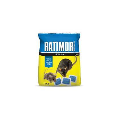 RATIMOR mäkká návnada brodifacoum 120 g