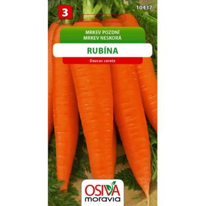 Mrkva RUBINA 3g