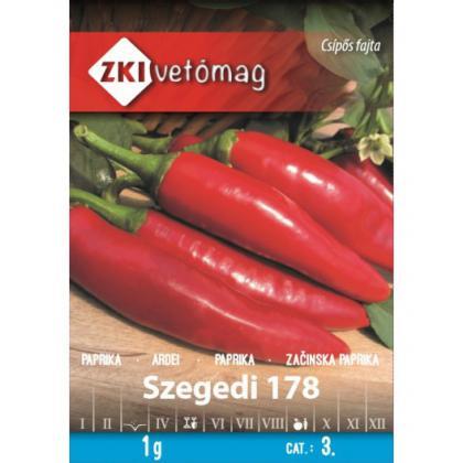 Paprika koreninová štiplavá – Szegedi 178, 1g