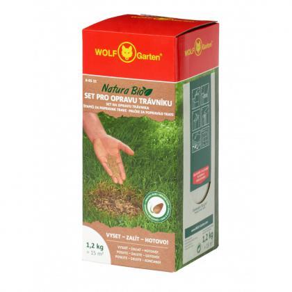 Tyčinky na opravu trávnika R-RS WOLF 15m2 1,2kg