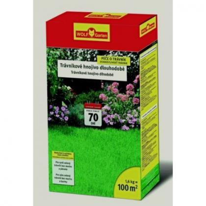 Wolf-Garten hnojivo na trávnik s dlhodobým účinkom LD-A 1,6kg/4,8kg