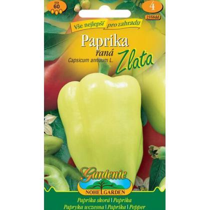 paprika zeleninová skorá ZLATA žltá
