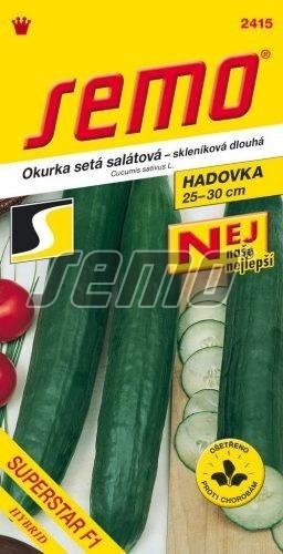 Uhorka siata šalátová Superstar F1 - hadovka 10s