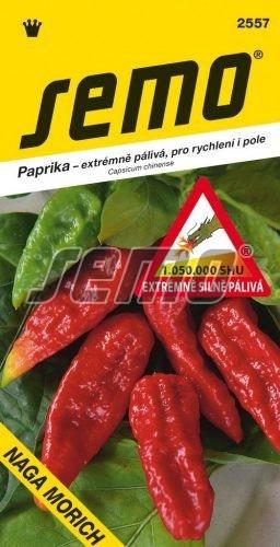 Paprika ročná Naga Morich 15s
