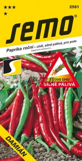 Paprika ročná – štipľavá DAMIÁN 0,4g