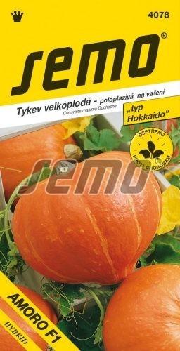 Tekvica Amoro F1 - typ Hokkaido 5s