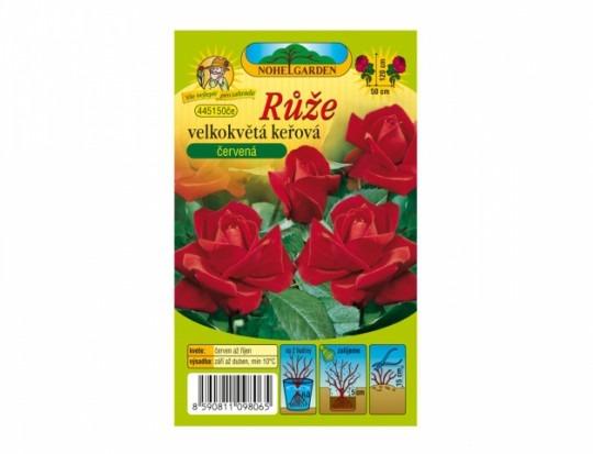 Ruža veľkokvetá kríková - červená 1ks