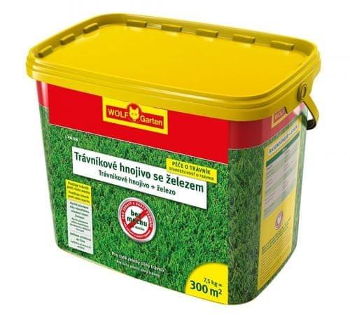 Wolf-Garten hnojivo s obsahom železa L-PM proti machu 7,5kg