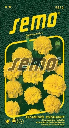 Aksamietnica PETIT žltý 1g
