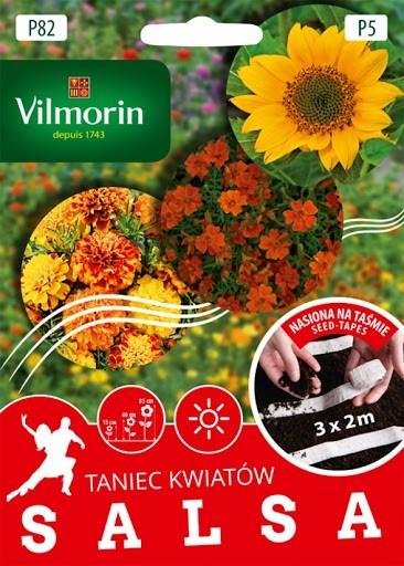 P82 Kolekcia semien na pásiku SALSA - 4,7g