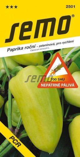 Paprika ročná pálivá PCR 0,6g