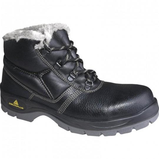 Zateplená vysoká obuv JUMPER2 , čierna, vel.43