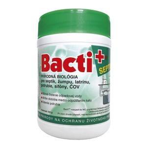 Bacti plus, prášok do septikov, žúmp a čističiek 500g