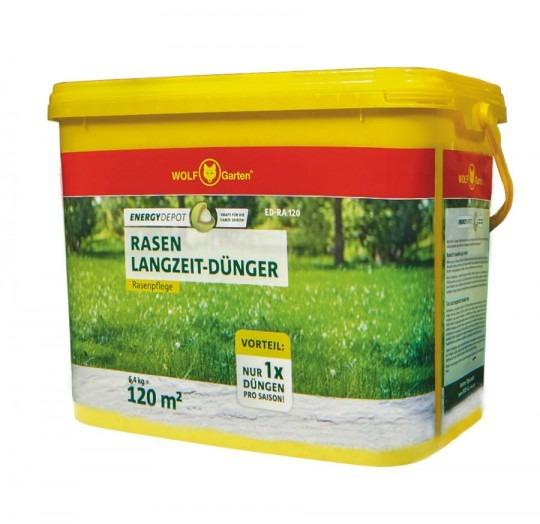 Hnojivo na trávnik energy depot ED-RA 120 WOLF-Garten 6,4kg