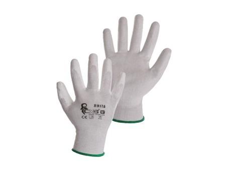 rukavice BRITA biele