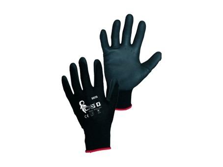 rukavice BRITA čierne, vel.9
