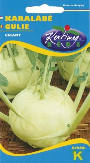 Kaleráb biely neskorý – Gigant, 1 g