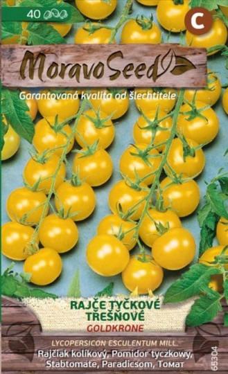 Rajčiak kolíkový čerešňový - Goldkrone 40s