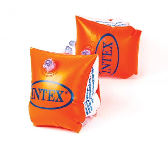 Oranžové nafukovacie rukávniky Deluxe 23x15cm