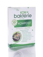 KOM 4 baktérie pre váš kompost 100g