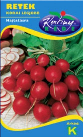 Reďkovka červená na rýchlenie – Korai legjobb, 5 g