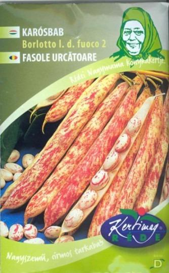 Fazuľa kolíková strakatá- Borlotto Lingua di Fouco 2, 50 g