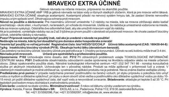 Mraveko 3x5g